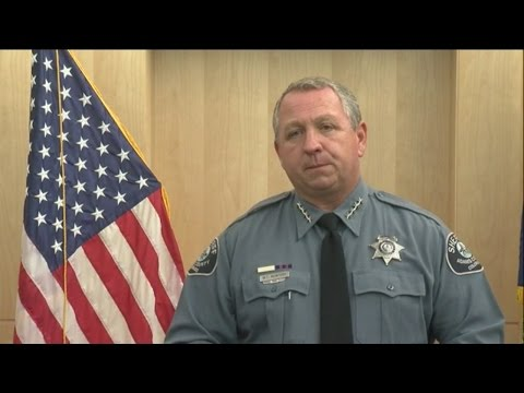 Raw Video: Adams County Sheriff talks about arrest of deputy