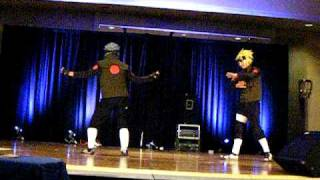 Naruto Dance Off Kakashi vs Minato