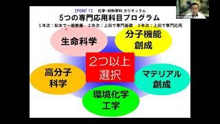 化学・材料学科(学科紹介/第1回オープンキャンパス)