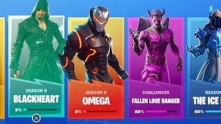 The MAX OMEGA SKIN RETURNS in Fortnite