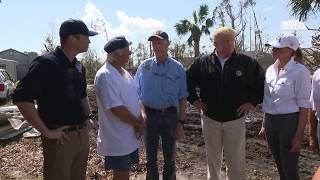 President Trump and the First Lady Arrive at the Lynn Haven Community