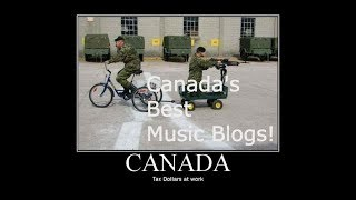 Canada's Best Music Blogs!