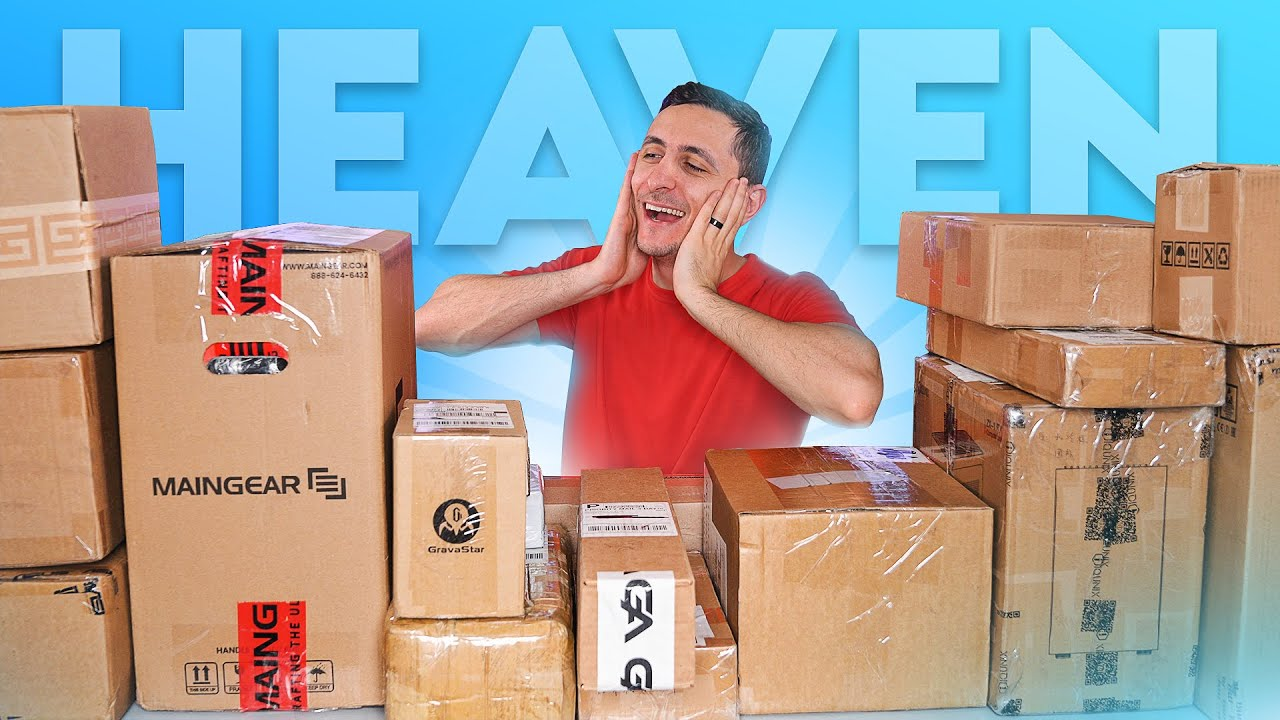 This Is Gamers Paradise! - Massive Tech Unboxing #49