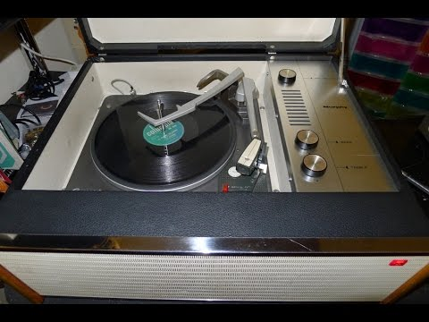 Murphy Vintage Record Player from1965. Full service, Circuit and test.