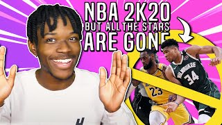 NBA 2K20, but There Are No Star Players