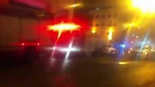 כיבוי והצלה פעלו בשריפה בבנייני מס הכנסה ברחוב כנפי נשרים