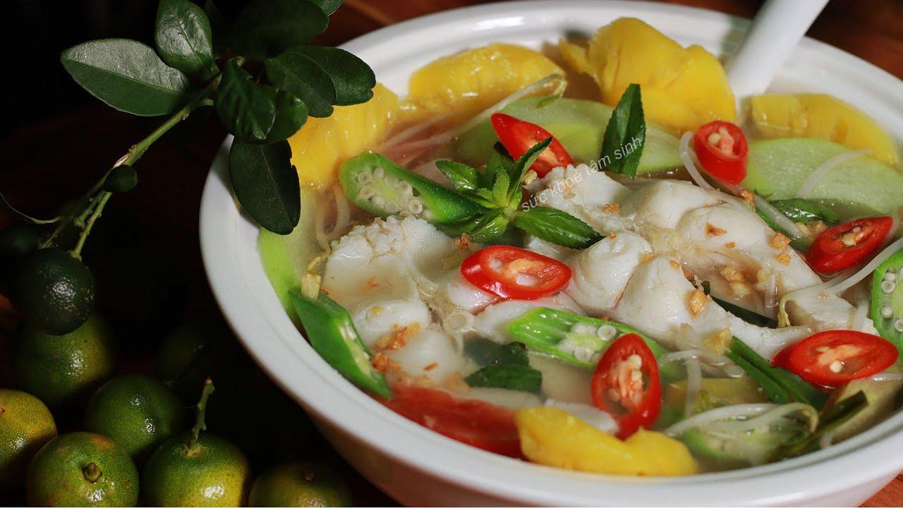 Cách nấu Canh Chua cực dễ nguyên liệu đơn giản mà ngon