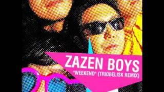 "Zazen Boys ""Weekend (Triobelisk Remix)"""