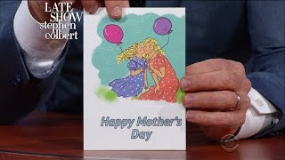 Late Show First Drafts: Mother's Day Cards 2017 thumbnail