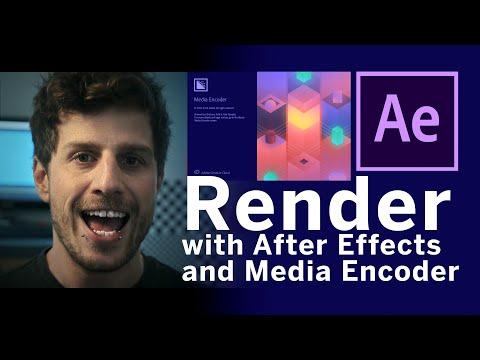 How to export and render in After Effects 2020