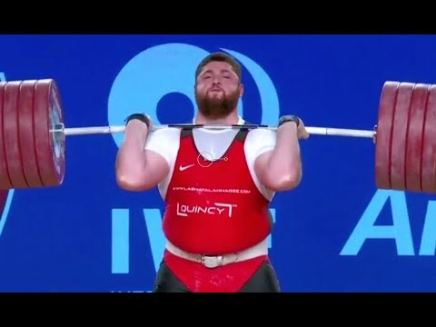 Men's 105+ kg A Session Clean and Jerk - 2017 IWF Weightlifting World Championships (WWC)