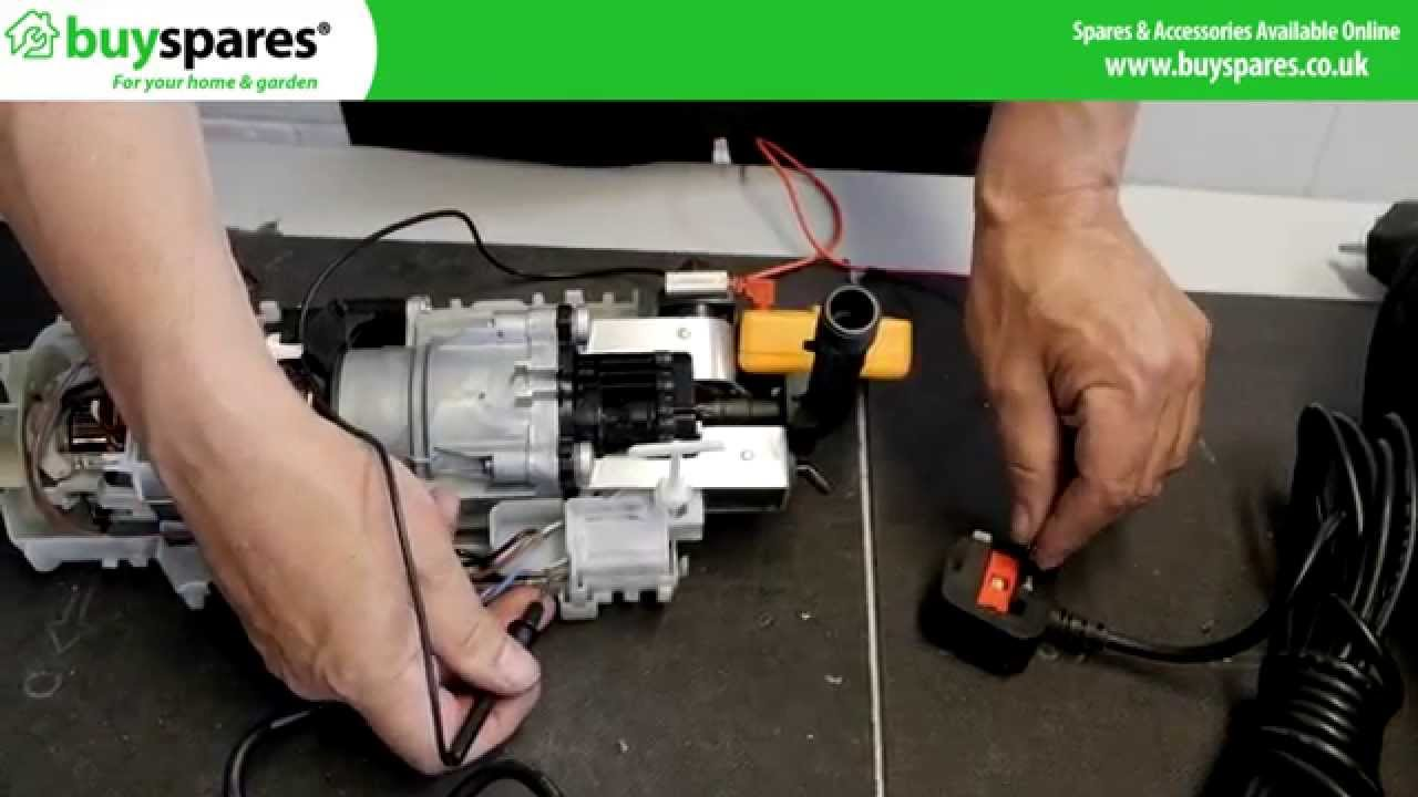 fault finding electrical problems on a pressure washer pump [ 1280 x 720 Pixel ]
