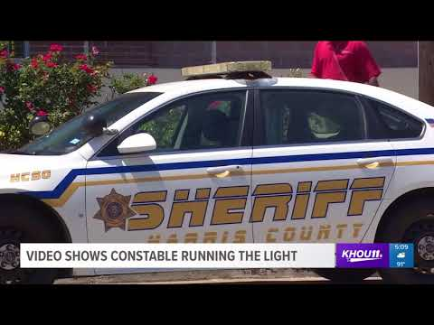 Constable Mark Herman admits to running a red light