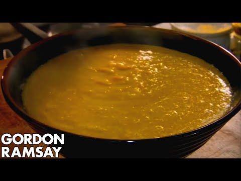 Spiced Sweetcorn Soup - Gordon Ramsay