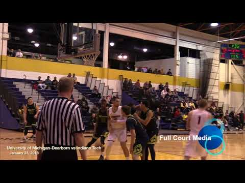 College Basketball U of M - Dearborn vs Indiana Tech 2018