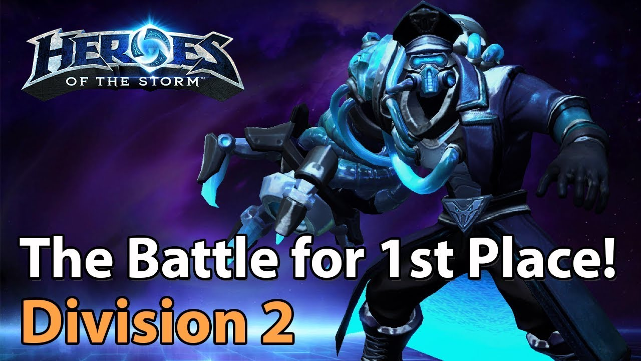 ► Heroes of the Storm: Battle for 1st Place in Division 2 - Heroes Lounge