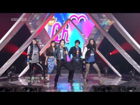 091106 KBS Music Bank f(x) - Chu~♡