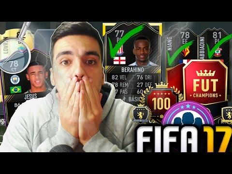 RECOMPENSA FUT CHAMPIONS^ ELITE | À PROCURA DE GABRIEL JESUS [PARTE 3] FIFA17