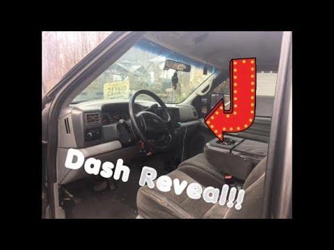 HUGE REVEAL: Dashboard For The Swap In My Super Duty Powerstroke!