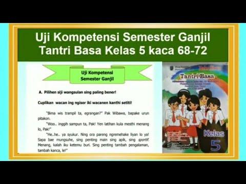 Uji Kompetensi Semester 1 Tantri Basa Kelas 5 Hal 68 72 Bahasa Jawa Kelas 5 Youtube