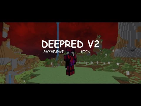 [DEEP RED V2] PACK RELEASE #33 - SMOOTH MINECRAFT PVP TEXTURE PACK!