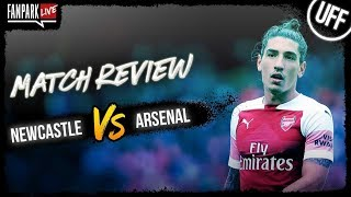 Newcastle vs Arsenal - Full Time Match Review - FanPark Live