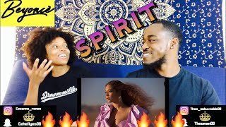 BEYONCÉ SPIRIT FROM DISNEY s THE LION KING OFFICIAL VIDEO REACTION