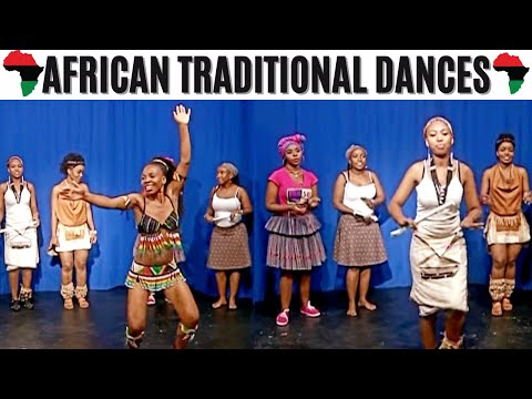 Repeat Southern African Traditional Dancing by Simunye by