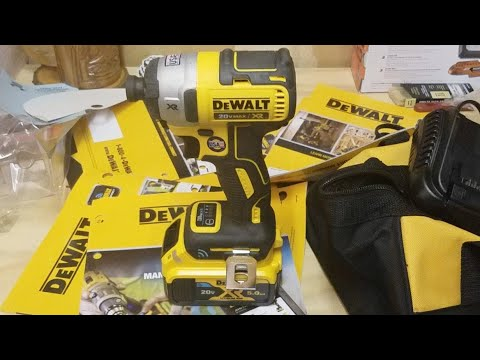 DeWalt 20v XR (DCF888) Impact Driver With Tool Connect