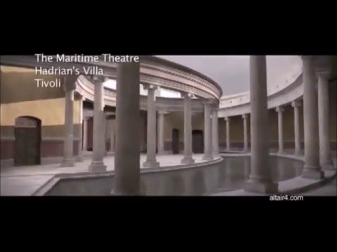 TIVOLI Villa d'Hadrien, théâtre maritime