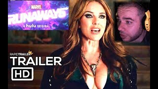 Marvel's Runaways Season 3 | Full Trailer REACTION! CAPA Y PUÑAL JUNTO LA INCREIBLE ELIZABETH HURLEY
