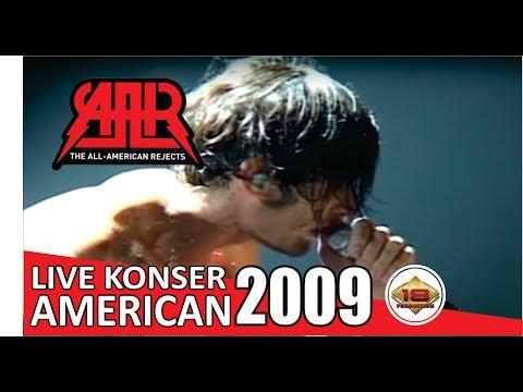Live Konser The All American Rejects - DAMN GIRL @Jakarta, 17 AGUSTUS 2009