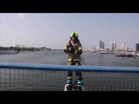 Dubai takes firefighting techniques to a new level