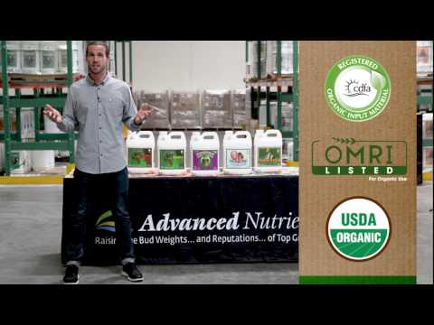 Advanced Nutrients Introduces New, High-Performance Organic OIM Line