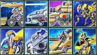 Toy Robot War Gameplay #10: Transformers | Eftsei Gaming