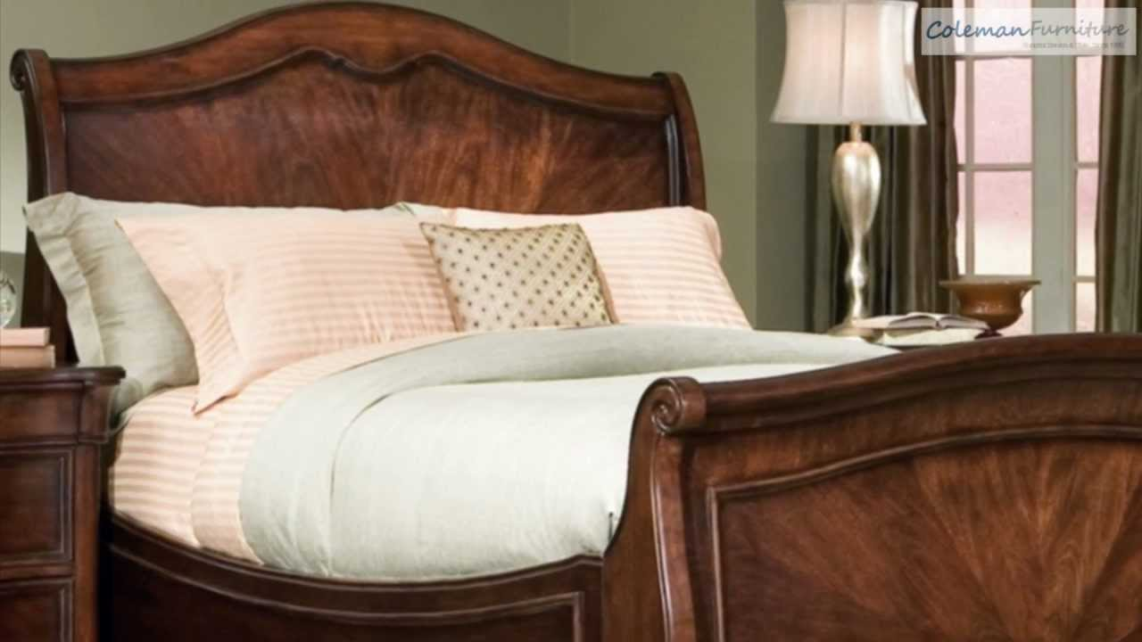 Legacy Classic Bedroom Furniture Heritage Court Arched Sleigh Bedroom Collection From Legacy