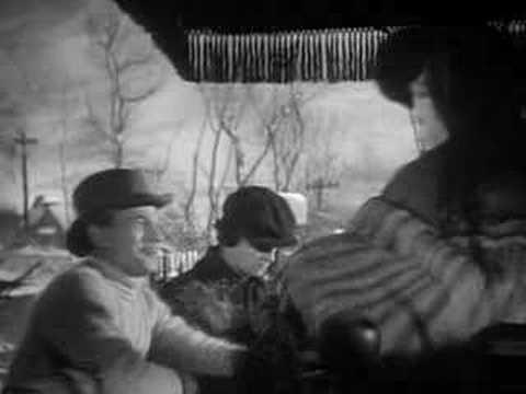 The Magnificent Ambersons - Snowride scene