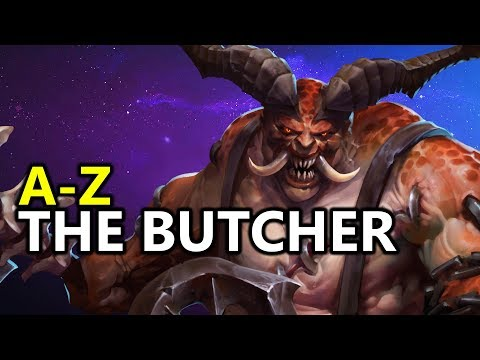 ♥ A - Z The Butcher-  Heroes of the Storm (HotS Gameplay)