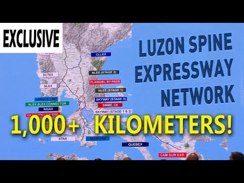 Philippines' ambitious 1,000+ kilometer road network! Luzon Spine Expressway