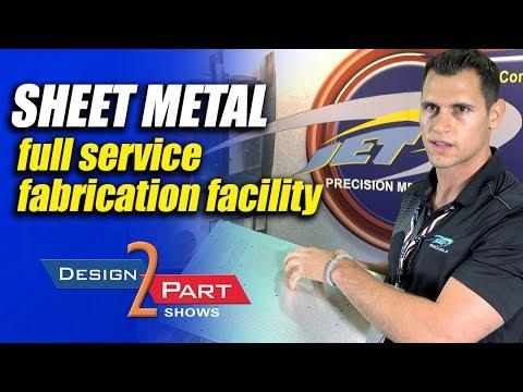 Full service sheet metal fabrication facility - JET Precision