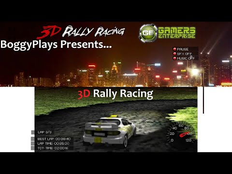 3D Rally Racing (Flash, 2007) All levels