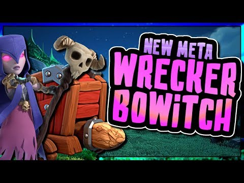 NEW BOWITCH WALL WRECKER ATTACK IS UNSTOPPABLE   Clash of Clans