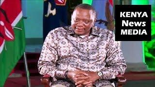 President Uhuru Kenyatta Answer QUESTIONS from MEDIA at Round Table...