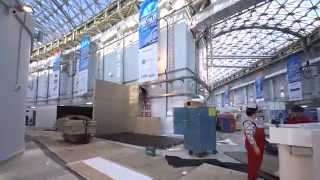 SportAccord Convention 2015 construction timelapse