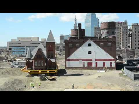 Time-lapse video of MGM Springfield