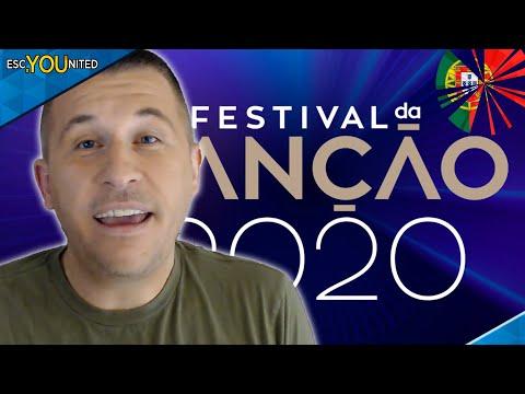 Portugal: Festival da Canção 2020 - Semi Final 1 REACTION (Eurovision 2020)