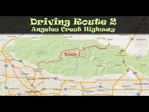 #118  Driving Route 2, Angeles Crest Highway CA (1/4)