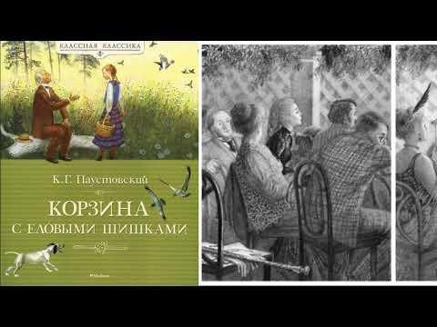 """К.Г. Паустовский """"Корзина с еловыми шишками"""" (в сокращении)."""