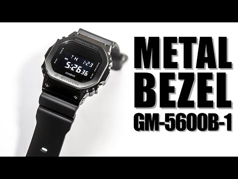 METAL BEZEL CASIO G-SHOCK GM-5600B-1