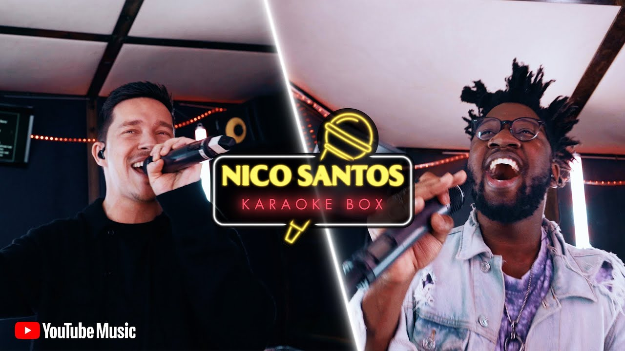Kelvin Jones performt The Weeknd & Nico stellt da das Radio aus 😅| Nico Santos Karaoke Box